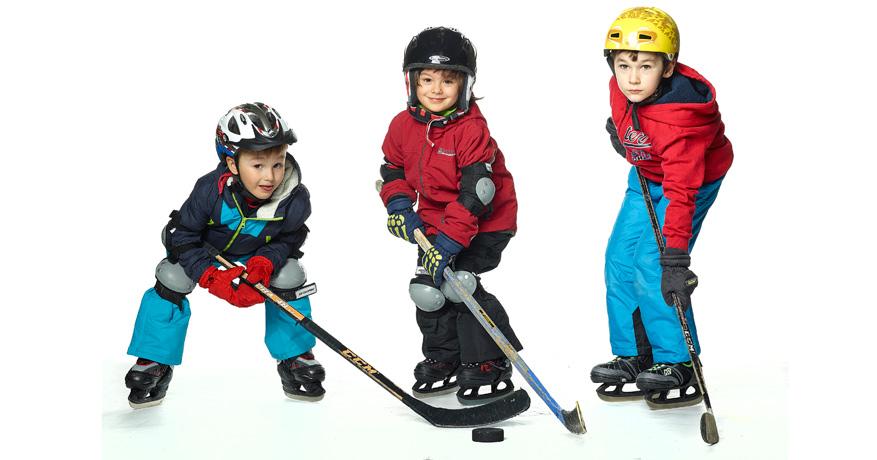 Eishockey, Eiskunstlauf