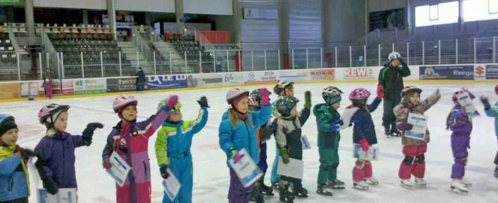 Kita-Eislaufschule Abschlussfest