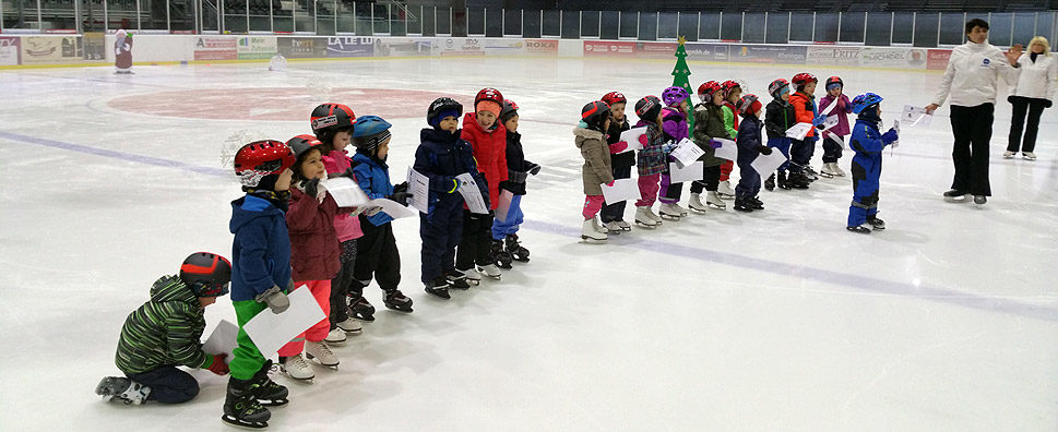 Kita-Eislaufschule: Abschlussfest Kita August-Hermann-Francke