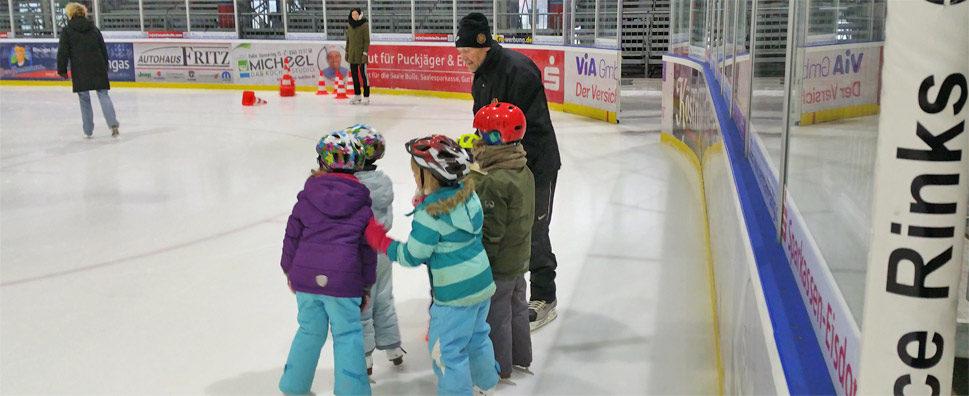 Kita St. Laurentius: Abschluss Eislaufschule